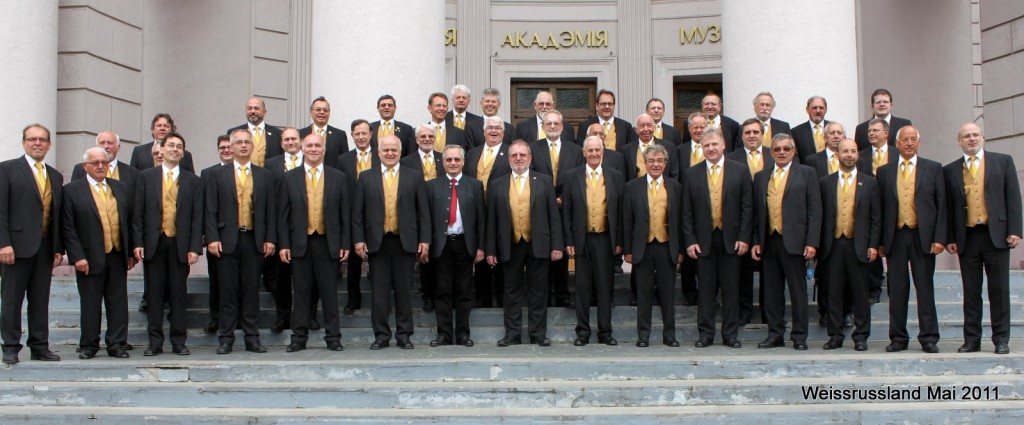 "Creative meeting of our collective with the Gumpoldskirchen male choir ""MACH 4"""