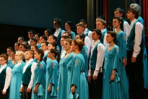 Выступление студенческого хора на X хоровом фестивале им. Б.Г. Тевлина