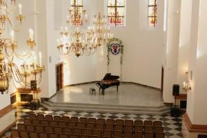 Студенческий хор на Благотворительном концерте духовной музыки к 30-летию Собора Белорусских святых