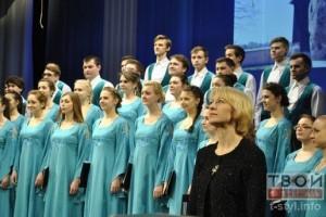 Концерт студенческого хора в Латвийской музыкальной академии имени Язепа Витола