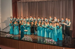Студенческий хор на Пасхальном фестивале «Светися, светися, Новый Иерусалиме»