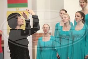 Студенческий хор на вручении специальных премий фондов Президента по поддержке талантливой молодежи