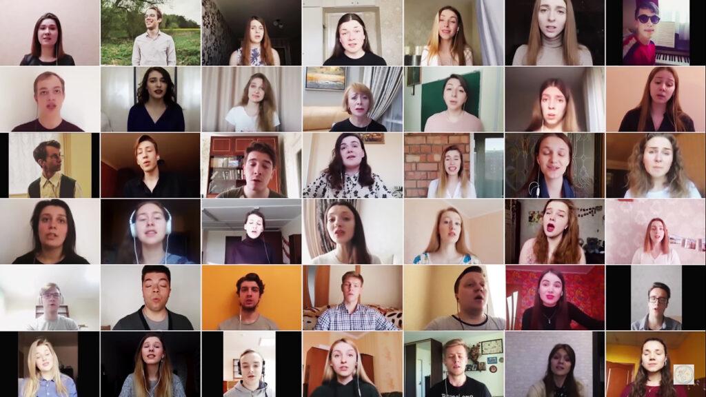 Репетиции хора онлайн… Как вы думаете, это возможно?